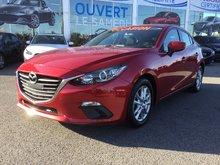 Mazda Mazda3 GS, DÉMARREUR, SIÈGES CHAUFFANTS, BLUETOOTH, MAGS 2015 UN SEUL PROPRIÉTAIRE