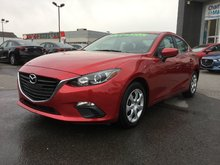 Mazda Mazda3 GS, SIÈGES CHAUFFANTS, BLUETOOTH, MAGS, CAMERA,A/C 2015 JAMAIS ACCIDENTÉ, UN SEUL PROPRIÉTAIRE