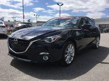 Mazda Mazda3 GT, TOIT, A/C, BIZONE, SYSTEME BOSE, NAVIGATEUR 2015 SIÈGES CHAUFFANTS, PHARES BI-ZENON