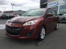 Mazda Mazda5 GT, BLUETOOTH, MAGS, A/C AUTO, SIEGES CHAUFFANTS 2012 RÉGULATEUR DE VITESSE, GROUPE ÉLECTRIQUE