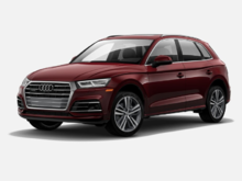 2019 Audi Q5 Technik Red Exterior, Black Interior, 248 HP