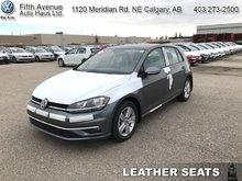 2018 Volkswagen Golf Comfortline  - Sunroof -  Leather Seats - $184.10 B/W