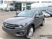 2015 Volkswagen Tiguan Highline  - Certified - $164.59 B/W