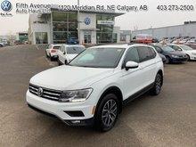 2018 Volkswagen Tiguan Comfortline 4MOTION  - Certified - $212.83 B/W