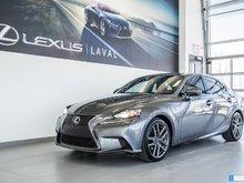 2015 Lexus IS 250 F-SPORT 1, 1 SEUL PROPRIO