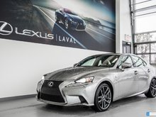 2015 Lexus IS 250 F-Sport 2**NAVI**CUIR**TOIT**CAM.