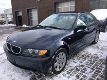 2004 BMW 3 Series 325xi 4dr AWD VEHICLE SOLD AS-IS! INQUIRE TODAY!