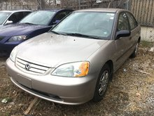 2001 Honda Civic DX-G VEHICLE SOLD AS-IS! INQUIRE TODAY!