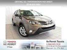 Toyota RAV4 Limited, CUIR, TOIT, GPS, CAM RECUL, COFFRE ÉLEC 2013