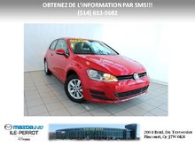 Volkswagen Golf Trendline TSI AUTOMATIQUE 2 PORTES 2015