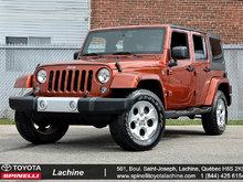 2014 Jeep Wrangler Unlimited 2 TOITS RACK NAV GAR PROL ET++