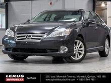 2011 Lexus ES 350 PREMIUM + NAV; CUIR TOIT GPS