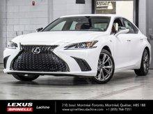 2019 Lexus ES 350 F SPORT I; CUIR TOIT ANGLES MORTS CARPLAY LSS+