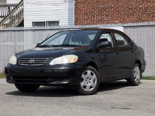 2003 Toyota Corolla AIR CLIMATISÉ AUTOMATIQUE ET ++