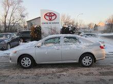 2013 Toyota Corolla B PKG