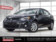 Toyota Corolla S SPORTS CAMÉRA RECUL 2014