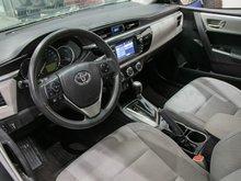 2015 Toyota Corolla LE IMPECCABLE! CAMÉRA DE RECUL! SIÈGES CHAUFFANT! BLUETOOTH! BAS KILOMÉTRAGE! SUPER PRIX! FAITES VITE!