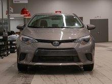 2016 Toyota Corolla LE CAMÉRA DE RECUL! SIÈGES CHAUFFANT! BLUETOOTH! UN PROPRIÉTAIRE! SUPER PRIX! FAITES VITE!