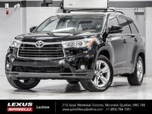 2015 Toyota Highlander LIMITED AWD; AUDIO TOIT GPS