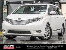 2015 Toyota Sienna LIMITED AWD; CUIR TOIT GPS DVD