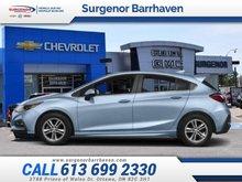 Chevrolet Cruze LT  - $111.27 B/W - Low Mileage 2017