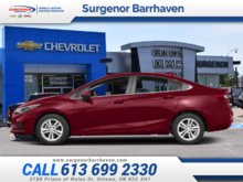 Chevrolet Cruze LT  - $183.24 B/W 2018