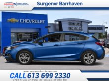Chevrolet Cruze LT  - $142.00 B/W 2018