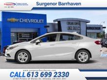 2018 Chevrolet Cruze LT  - $151.62 B/W