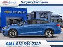2019 Chevrolet Cruze LT  - Apple CarPlay -  Android Auto - $141.49 B/W