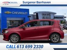 2018 Chevrolet Sonic LT  - Bluetooth - $145.32 B/W