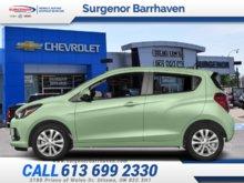 2018 Chevrolet Spark 1LT  - Bluetooth -  MyLink - $116.79 B/W