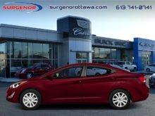 Hyundai Elantra GL at  - $68.71 B/W - Low Mileage 2014
