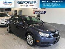 2014 Chevrolet Cruze 1LT   FUEL EFFICIENT, BLUE TOOTH, SIRIUS   - $90.60 B/W