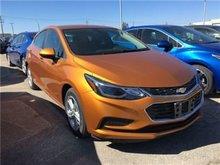 2017 Chevrolet Cruze LT  - Bluetooth -  SiriusXM - $165.16 B/W