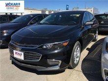 2017 Chevrolet Malibu LS  - Bluetooth -  OnStar - $144.43 B/W