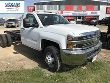 2017 Chevrolet Silverado 3500HD Chassis WT  -  Towing Package - $308.09 B/W