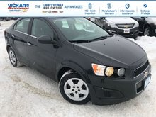 2014 Chevrolet Sonic LT  - Bluetooth -  SisiurXM - $109.84 B/W