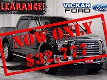 2016 Ford F-150 4x4 - Supercrew XLT - 145 WB 5.0 V8 XTR 4x4