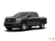 2017 NISSAN TRUCKS TITAN XD GAS CREW CAB AA50