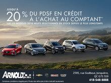 Jusqu' à 20% sur Buick sélectionné !