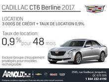 Le Cadillac CT6 en location