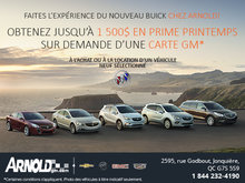 Prime Printemps de Buick!