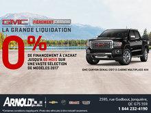 Le GMC Canyon Denali 2017est en liquidation!