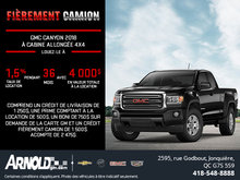 Le GMC Canyon 2018!