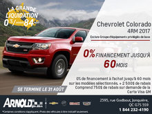 Chevrolet Colorado à 0%