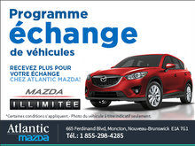Programme échange de véhicules de Mazda