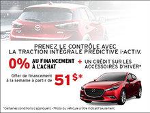Prenez le contrôle avec Mazda!