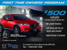 Mazda First Time Owner's Program