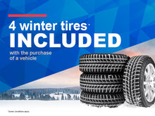 4 winter tires included!