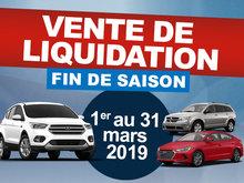 Vente de liquidation - Fin de saison